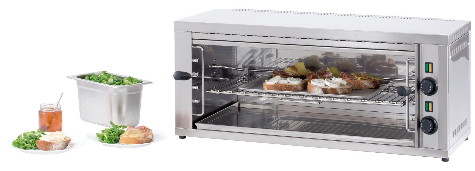 Salamandre cuisine position amovible gm acier inoxydable for Salamandre de cuisine