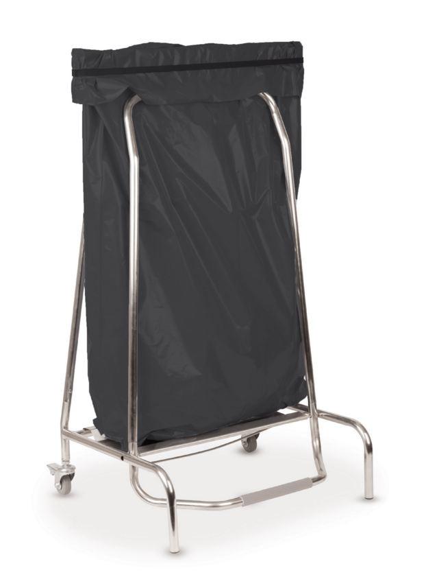 Porte sac poubelle inox 110 l l 720 x p 520 x h 190 mm stl sarl for Porte sac poubelle