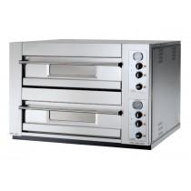 Fours à pizza, compacts, deux chambres, DM DOMITOR 12,30 S (12 pizzas Ø 30)  95 x 130 x 73 mm