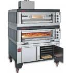 Fours à pizza, gaz modulaires, bi-chambre , SG/99/2 1410 x 1150 x 1000/1020 mm