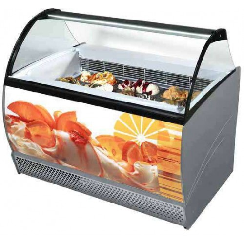 Vitrine a glace professionnelle, NEW ISABELLA 140 LX