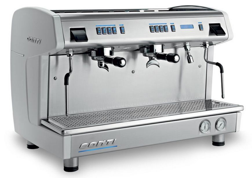 CONTI Machine à café professionnelle traditionnelle, CONTI X-one Tall cup 2  groupes . 1f0ab8d3d449