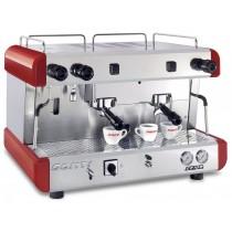 Machine à café professionnelle traditionnelle gaz CONTI CC100 SAM 2 groupes