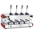 Machine à café professionnelle traditionnelle gaz ou/et électrique Conti CC100 PM 4 groupes