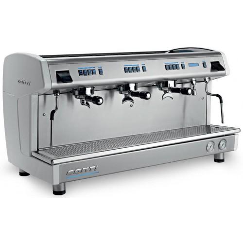 Machine à café professionnelle traditionnelle, électrique, CONTI X-one Tall cup 3 groupes