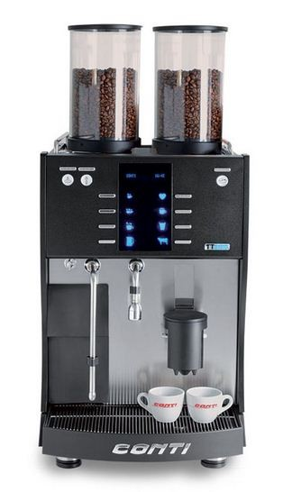 machine caf automatique conti 2 chaudi res combin. Black Bedroom Furniture Sets. Home Design Ideas