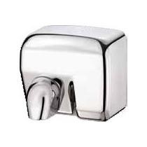 Sèche-mains inox , 260 x 235 x 210 mm