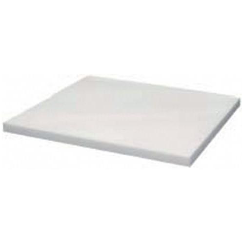 Plaque de découpe cuisine polyéthylène, blanc, épaisseur 25mm , profondeur 700 mm