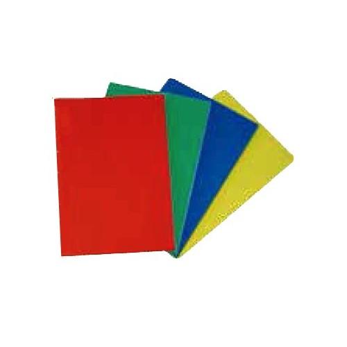 Plaque de découpe cuisine sur tasseaux ou sur pieds caoutchouc, rouge, profondeur 350 mm