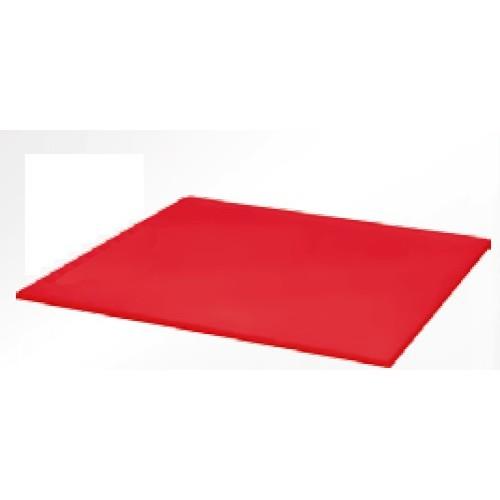plaque de d coupe cuisine poly rouge paisseur 40 mm profondeur 600 mm stl sarl materiels. Black Bedroom Furniture Sets. Home Design Ideas