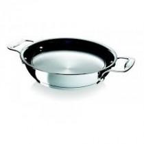Po le cuisine inox avec anse 200 x h 60 mm for Poele cuisine professionnelle