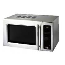 Four micro-ondes professionnel, inox, Cafétéria 25L, L 510 x P 420 x H 300 mm
