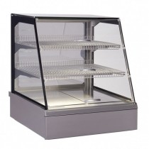 Vitrine de présentation, Inox, VITRINE MAP self hot, L 746 x P 717 x H 845 mm
