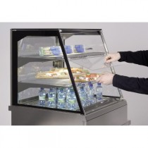 Vitrine de présentation, Inox, VITRINE MAP self cold, L 746 x P 717 x H 845 mm