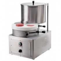 Formeuse à steak, STEAK MATIC 130, Inox, L 410 x P 540 x H 710 mm