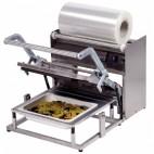 Conditionnement et emballage, operculeuse à barquette, GN1/2, inox aisi 304, L 725 x P 470 x H 410 mm