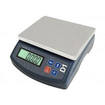 Balance industrielle, série D1, D1-1000, L 185 x P 210 x H 85 mm