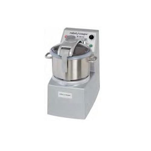 Cutter vertical modèle R 15 V.V., 380-480V , vitesse variable, inox 15 litres