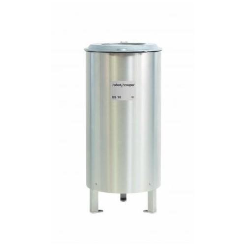 Éssoreuse ES 10, Triphasé 400 V, panier d'essorage inox d'une capacité de 1 à 10 kg