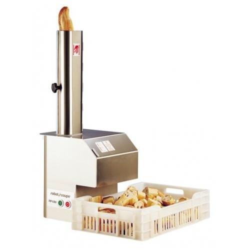 Trancheuse à pain professionnelle,TP 180, monophasé