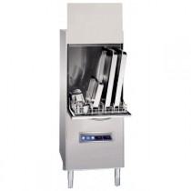 Lave batterie, capot ouvert : 2080, inox AISI 304, LB 680, L 675 x P 842 x H 1850 mm