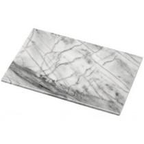 plaque de d coupe cuisine sur tasseaux marbr blanc. Black Bedroom Furniture Sets. Home Design Ideas