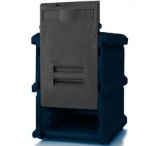 Boîte isotherme à ouverture frontale,, 10 x 600 x 400 (pas de 50 mm)