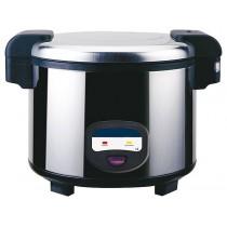Cuiseur à riz, inox poli, Ø 455 x H - 380 mm