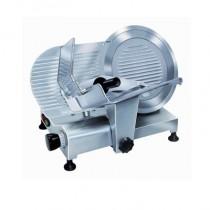 Trancheur aluminium à courroie avec protecteur de lame, affûteur fixe, L 680 x 515 x 470 mm