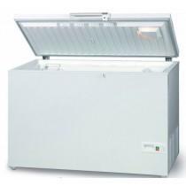 Congélateur coffre porte pleine relevable, AB 350 L 1125 x P 695 x H 850 mm