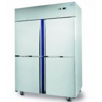 Armoire professionnelle gastronorme, GE 1400 TN, 4 1/2 portes, conservation, L 1440 x P 850 x H 2050 mm
