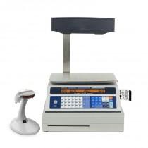 Balance Commerciale, Série M6, avec imprimante, M6-30P, dimensions du plateau : 340 x 225 mm