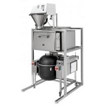 Support préparation sushi avec colonne,Tora WIith Automatic Rice Washer, L 900 x P 1115 x H 2250 mm