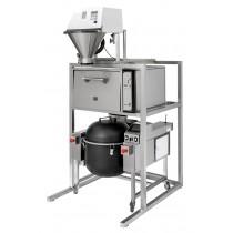 Machine de préparation sushi avec colonne,Tora With Semi-automatic Rice Washer