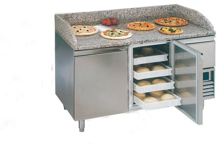 Desserte pizza table pizza 2p 1 tn table sans tiroir sp cial pate pizza - Desserte tiroir plastique ...