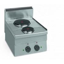 Cuisinière Electrique , LIGNE 600,ME 40,Table Electrique,L 400 x P 600 x H 460 mm