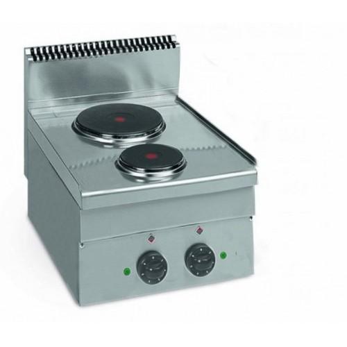 Cuisinière électrique, gamme 600, ME 40, 2 plaques, 4.1 kW