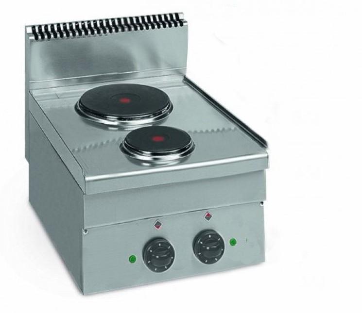 Cuisinière électrique Gamme 600 Me 40 2 Plaques 4 1 Kw