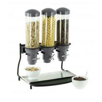 Distributeur de céréales 3 tubes, L 460 x P 390 x H 640 mm