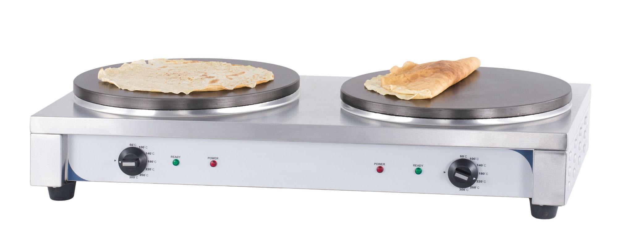 Materiel cr perie professionnel carr e double 40 for Accessoire cuisine professionnel