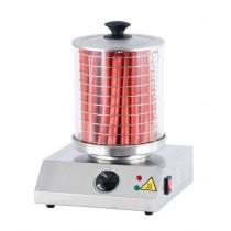 Chauffe-saucisses , acier inoxydable , L 280 x P 280 x H 355 mm