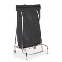 Porte sac poubelle inox 110 L, L 720 x P 520 x H 190 mm