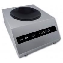 Wok induction monophasé, puissance 3500 W, L 410 x P 510 x H 210 mm