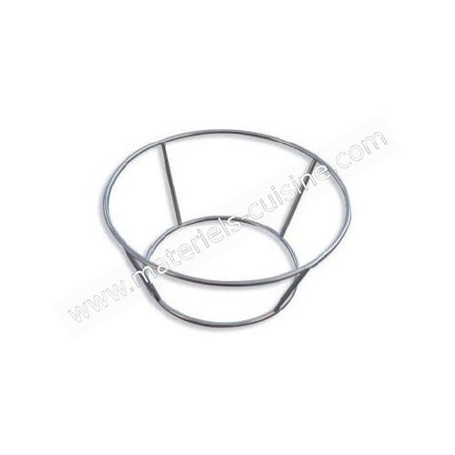 Support inox pour po le wok 240 mm stl sarl for Support inox cuisine