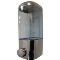 Distributeur de savon douche muraux , manuel , L 115 x P 115 x H 250 mm