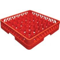 Casier à verre pour lave-vaisselle en polypropylène sans réhausse , 49 compartiments , L 501 x P 501 x H 101 mm