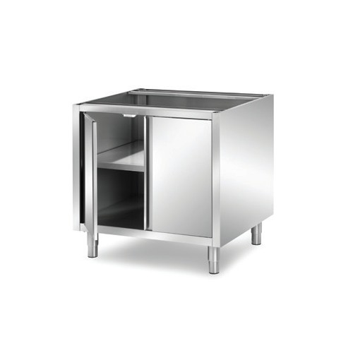 Meuble inox cuisine salle de bain accessoires design for Porte de cuisine inox