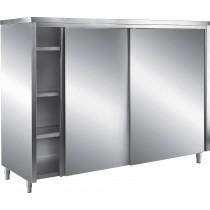 armoire haute toit pent portes coulissantes p 600 mm stl sarl materiels. Black Bedroom Furniture Sets. Home Design Ideas