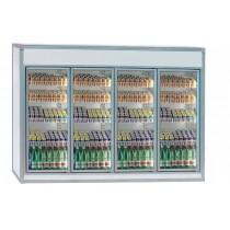 Equipement frigorifique chambre froide CPV4 enceintes , conservation , L 3320 x P 1320 x H 2120 mm