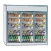 Equipement frigorifique chambre froide ANV3 enceintes , congélation , L 2600 x P 1000 x H 2200 mm